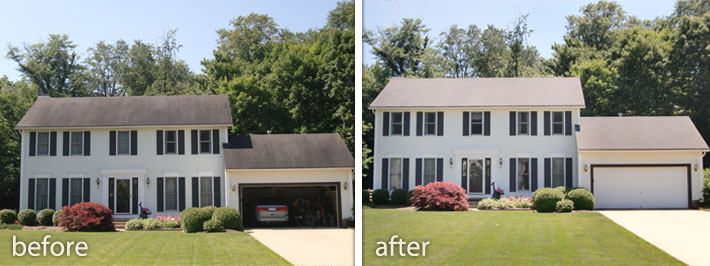 Before Amp After Roof Cleaning Photos Tri County Roof Cleaners